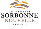Logo UNIVERSITE SORBONNE NOUVELLE - PARIS 3